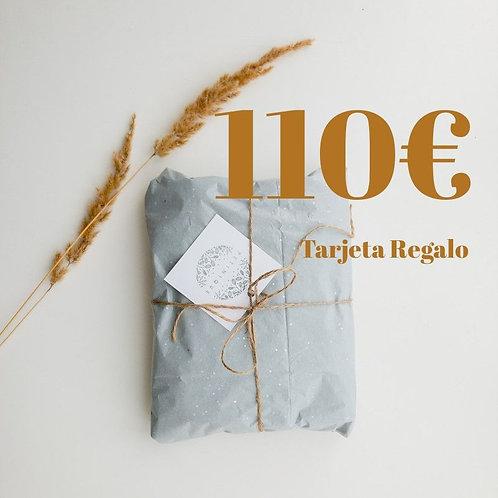 Tarjeta Regalo 110€