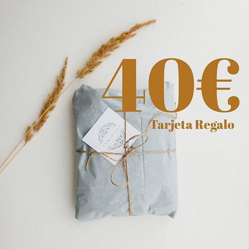 Tarjeta Regalo 40€