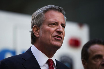 De Blasio's attempt to reduce the number of Asian-American students in the Discovery Program is