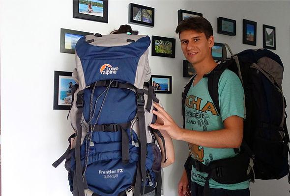 Weltreise Backpacks