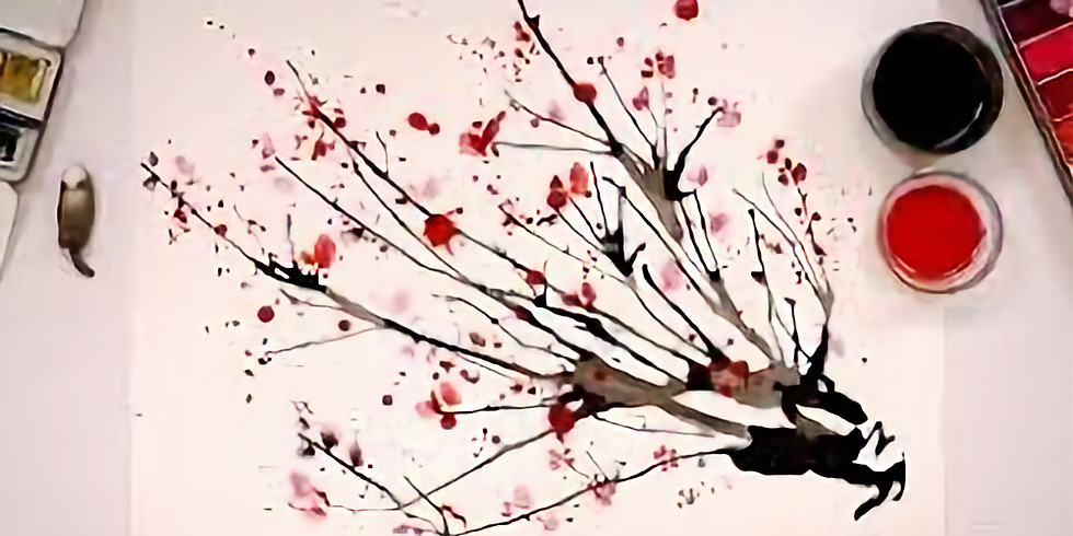 Postponed:  Chinese Culture - Cherry Blossom Painting