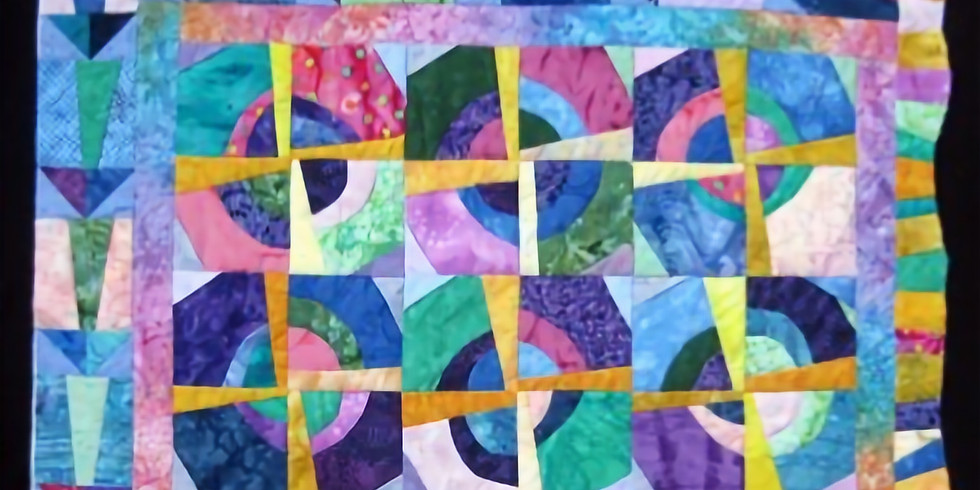 Postponed: Jenks Learning Connection - Improvisational Quilting