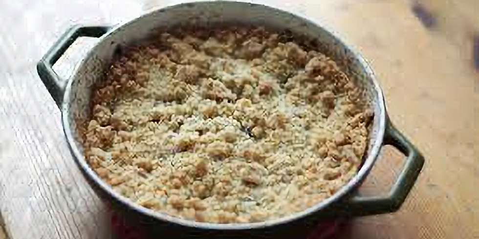 Whole Foods:  Apple Crumble