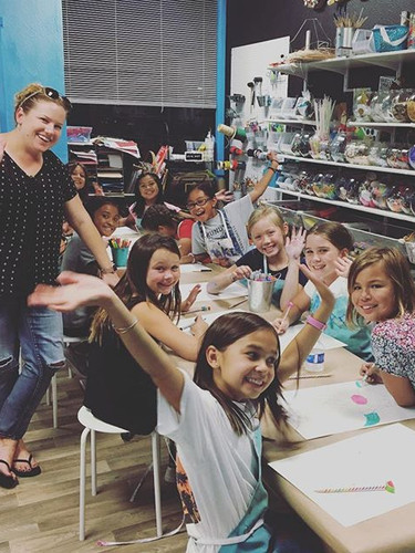 Girl Scout troupe at MAKE!.jpg