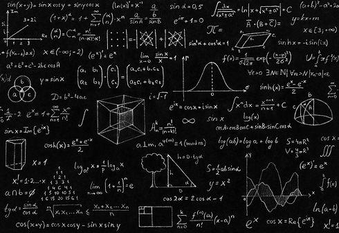 Mathematic, geometry, physic formula and
