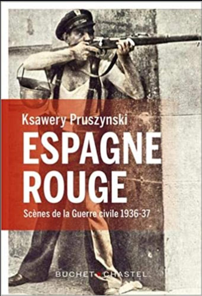 Espagne rouge de Ksawery Pruscynski