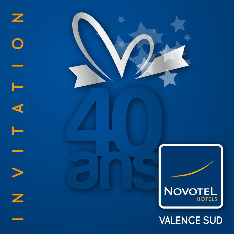 novotel 40 ans