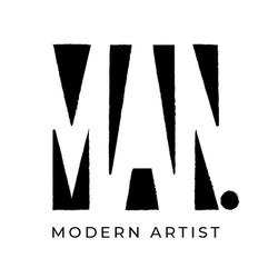 Logo Man   Modern Artist