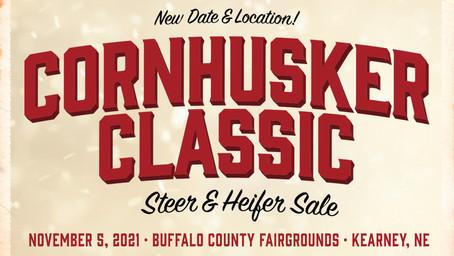 Cornhusker Classic Sale New Date and Location