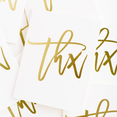THANK YOU NOTE TEMPLATES FOR CLIENTS