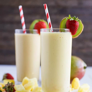 TROPICAL MANGO & PINEAPPLE SMOOTHIE