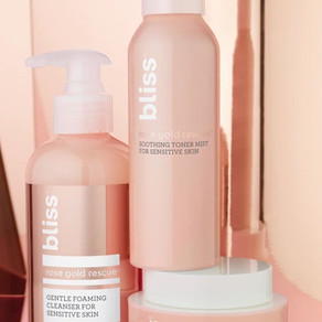 SKINCARE REVIEW   BLISS ROSEGOLD RESCUE