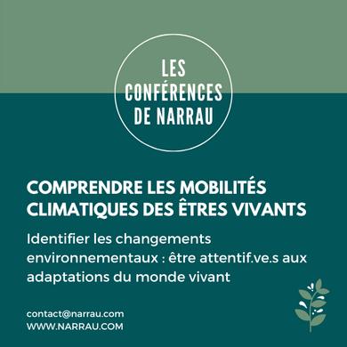Comprendre les mobilités climatiques des
