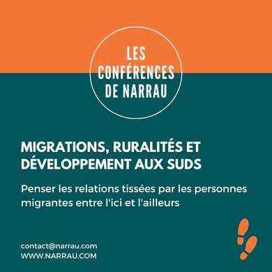 Migrations, ruralités et développement a