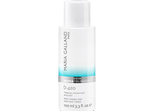 D-420 MOISTURIZING AND SOOTHING TONER - 100ml