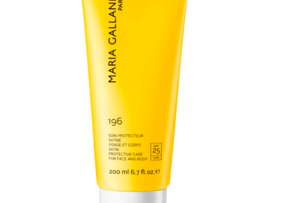 196 PROTECTIVE CARE FOR FACE AND BODY (SPF 25) - 200ml