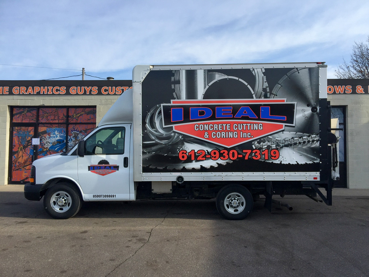 Full Van Wrap with Cut Lettering