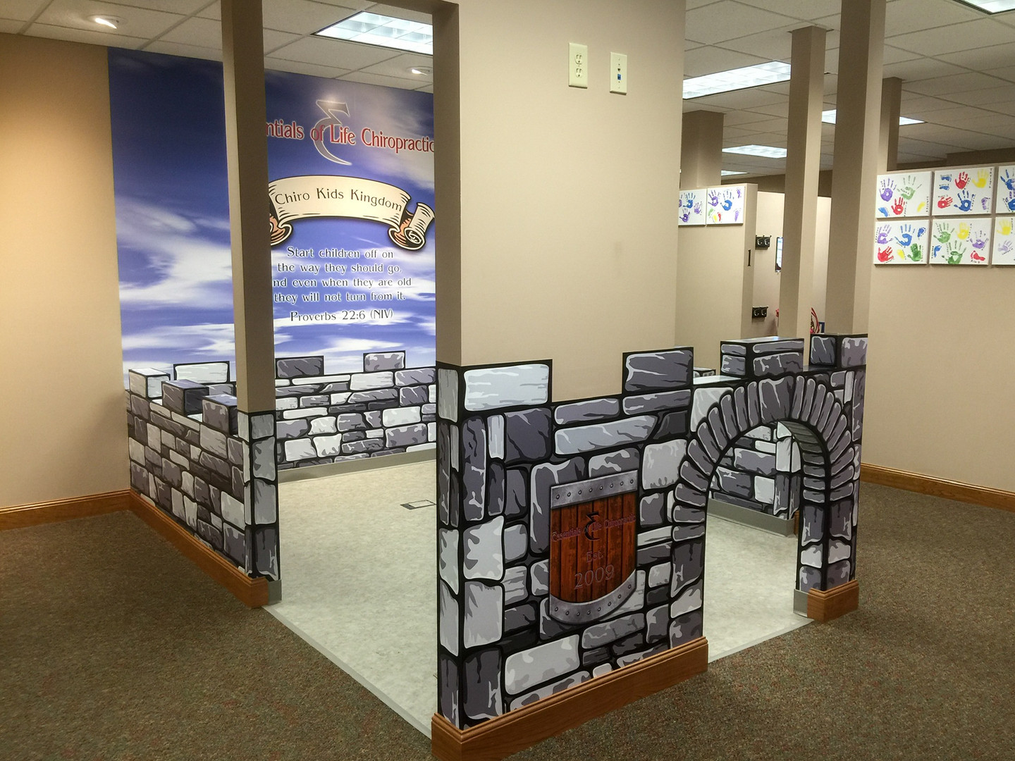 Wall Graphics at Essentials of Life Chiropractic