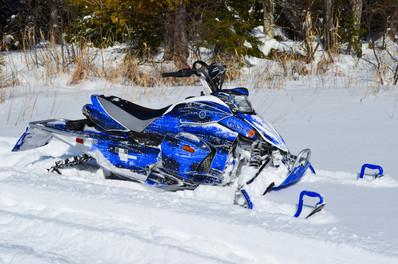 Full Snowmobile Wrap