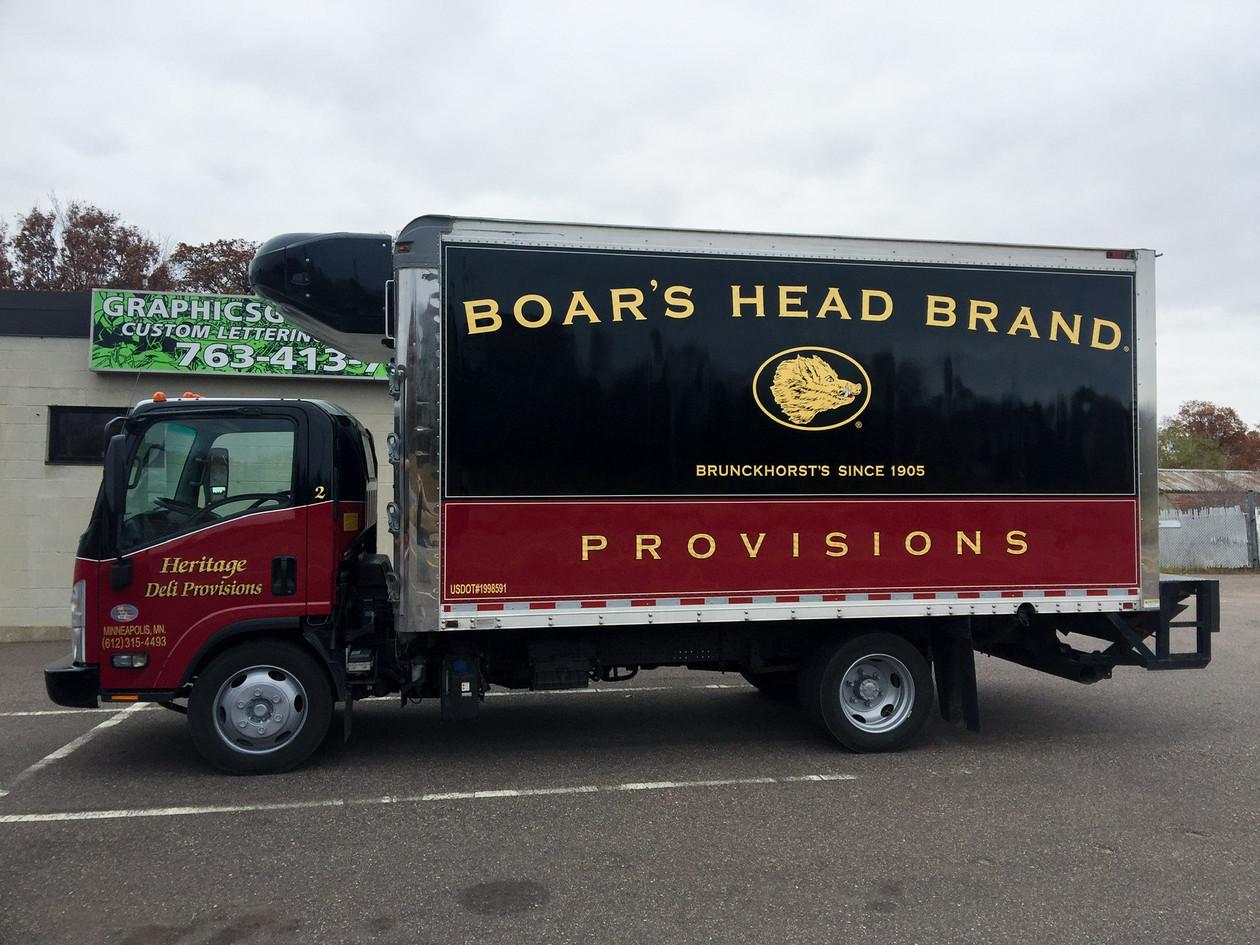 Full Boar's Head Wrap