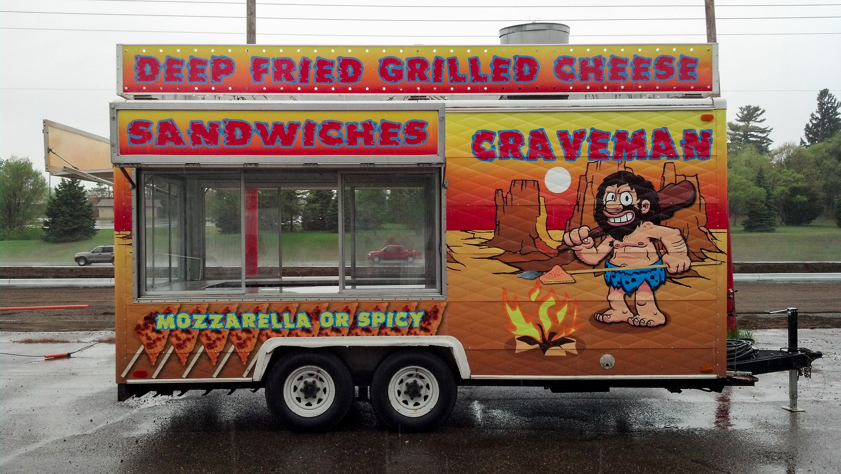 Concession Stand Wrap