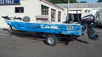 Full Clam Boat Wrap