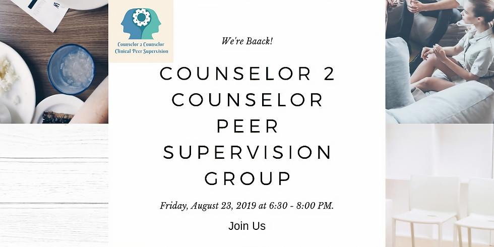 C2C Group Supervision August 23, 2019