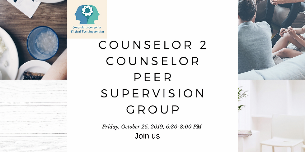 C2C Group Supervision October 25, 2019