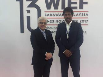 Tan Sri Dato' Ahmad Fuzi of SSP says WIEF to chart future of halal industry, Islamic finance