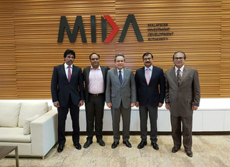 SSP host meeting with MIDA and Attero Tadwir