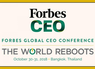 SSP attends Forbes Global CEO Conference Bangkok