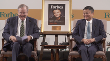 Jack Ma receives lifetime achievement award from Forbes