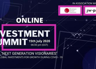 SSP's UAE partner FINCASA VENTURES announces Global Online Investment Summit.