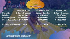 Camp Pascua - CANCELADO POR COVID19
