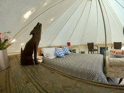 Deluxe Glamping Tent