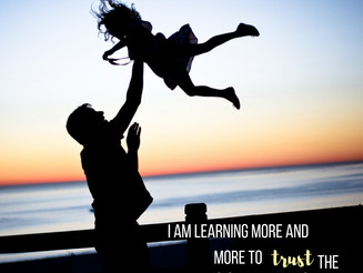Modern Psalm: Learning to Trust