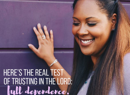 Trusting in God: What a Full Lean Looks Like