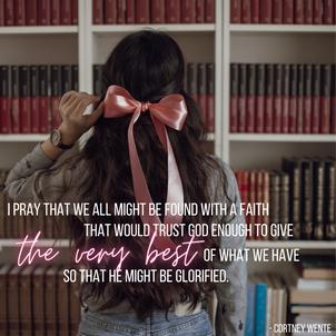 Building Faith on Faith