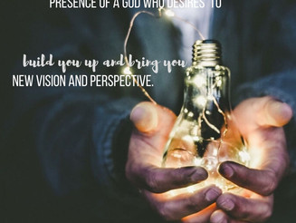 Spiritual Vision: Beholding Jesus to See Everything Differently