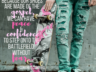 ARMOR Series, Part 4: The Shoes Prepped with the Gospel of Peace