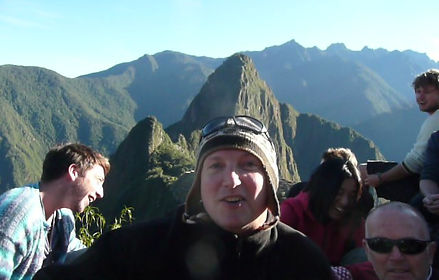 The excitement of getting to Machupicchu, together with the best service in the region.