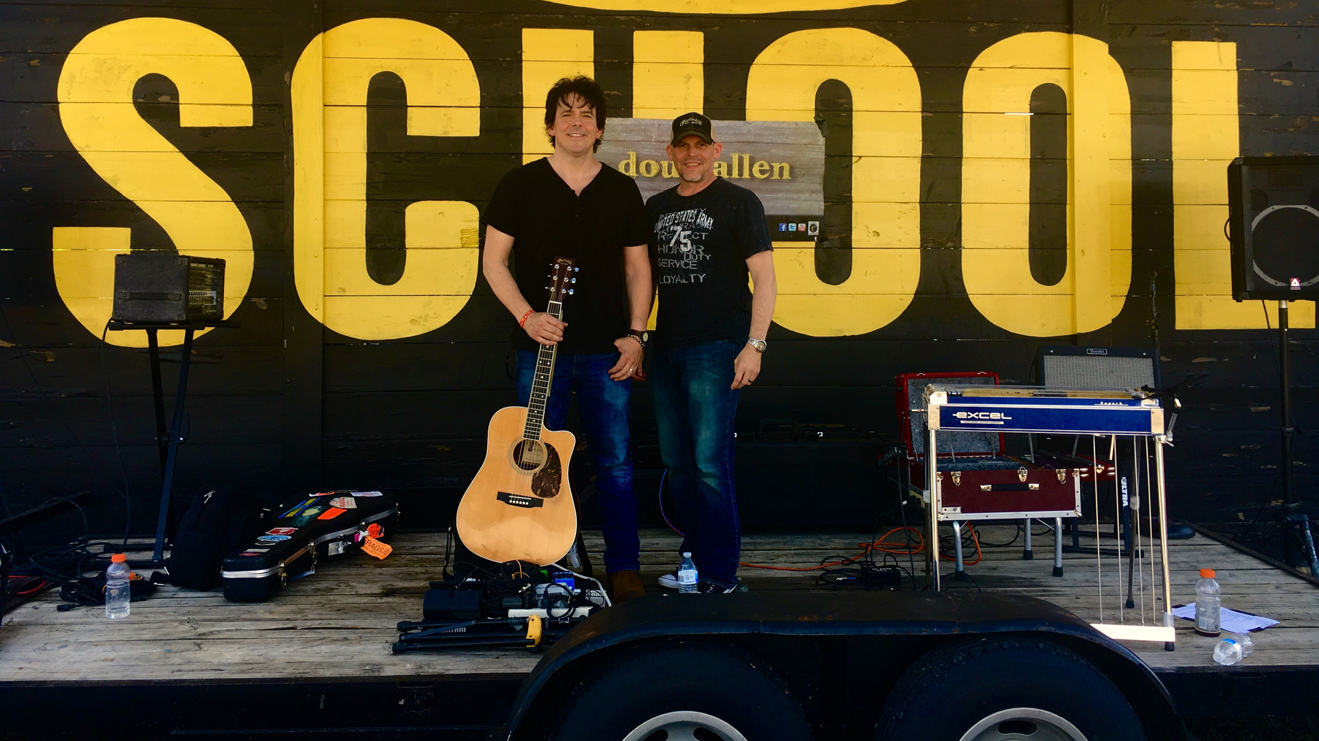 Supporting the troops with Mark Huhta (Pedal Steel) 101st Airborne Division