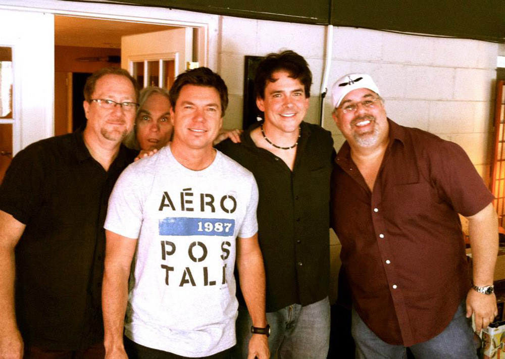In the studio with some of Nashville's Finest