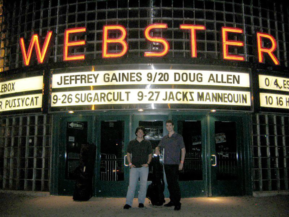 Webster Theater opening for Jeffrey Gaines with Trevor Cohen
