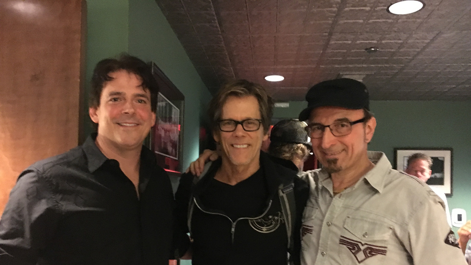 Backstage with Kevin Bacon and Paul Guzzone of The Bacon Brothers