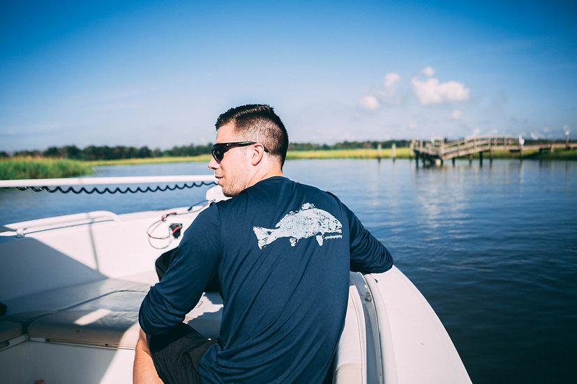 Men's Long-Sleeve Fishing Tee