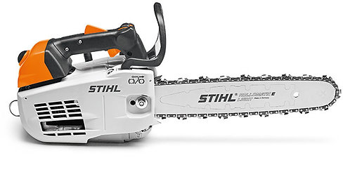 Compact 1.8kW top handled chainsaw with M-Tronic