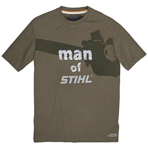 """man of STIHL"" t-shirt"