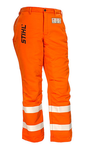 Government & Utility Protective Trousers - Hi Vis