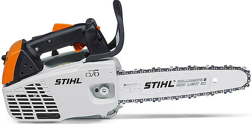Compact 1.3kW arborist chainsaw 2-MIX technology